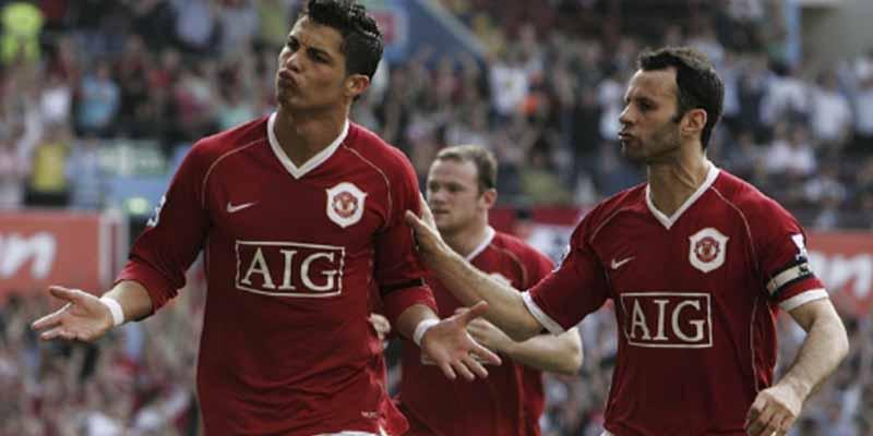 """Giggs recordó la dura pelea que tuvo con Cristiano Ronaldo: """"Aquí no hacemos las cosas así"""""""