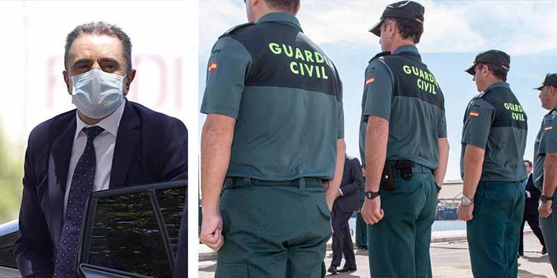 """La Guardia Civil responde al Delegado del Gobierno en Madrid: """"Dimita, no por incompetente sino por cobarde"""""""