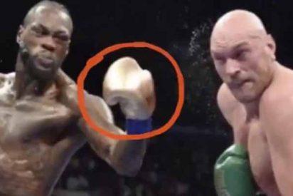 """Denuncian a Tyson Fury por poner objetos en sus guantes para noquear a Deontay Wilder: """"Le dejó una abolladura en la cabeza"""""""
