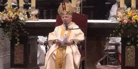 """Tremenda liada: el cardenal Cañizares suelta en plena misa que la vacuna del coronavirus se fabrica con """"células de fetos abortados"""""""