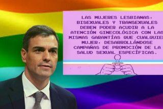 El ridículo en mayúsculas del PSOE sobre las mujeres lesbianas que crispa a Twitter