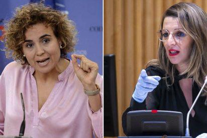 Dolors Montserrat se 'merienda' a Yolanda Díaz por su desastroso 'tweet': admite el fracaso económico del PSOE