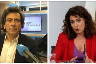 Espada hiela la sangre de la ministra portavoz de Sánchez con un 'recuerdo' a las víctimas del Covid-19