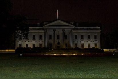 EEUU: Noche de furia, disturbios y fuego frente a la Casa Blanca