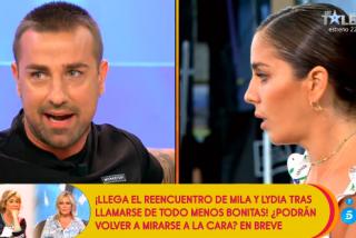 """Bronca sin precedentes entre Anabel Pantoja y Rafa Mora en 'Sálvame': """"¡Perro! ¡Imbécil! ¡Payaso!"""""""