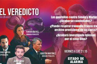 TERTULIA / ¿Acabarán condenados Fernando Simón, Franco y Marlaska por sus mentiras y engaños durante la pandemia?