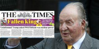 """Tremenda portada del diario 'The Times' contra el rey Juan Carlos: """"Sexo, dinero y escándalo"""""""