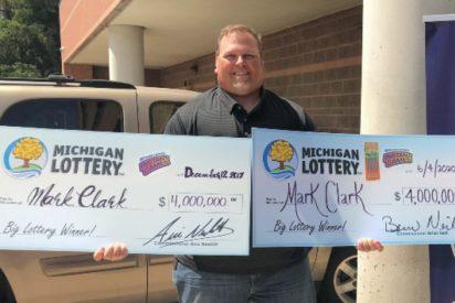 Este tipo tiene 50 años y le han tocado, por segunda vez, 4 millones en la lotería