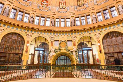 Las estaciones de tren más espectaculares de la República Checa
