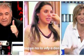 """El Quilombo / Atresmedia sale al rescate de Montero: Ferreras y Griso no ven """"mala intención"""" en sus mentiras"""