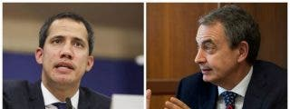 """Guaidó borra la sonrisa de Zapatero en una soberbia carta: """"Usted se sitúa, sin maquillajes, en la defensa de los sátrapas"""""""