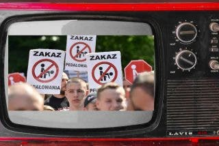 """Televisión pública polaca: """"España vive bajo la dictadura LGTB"""""""