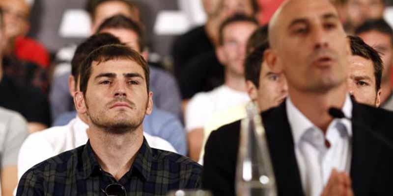 """Casillas no competirá por la presidencia de la Federación de Fútbol y culpa a Rubiales: """"Yo quería un proceso electoral justo»"""