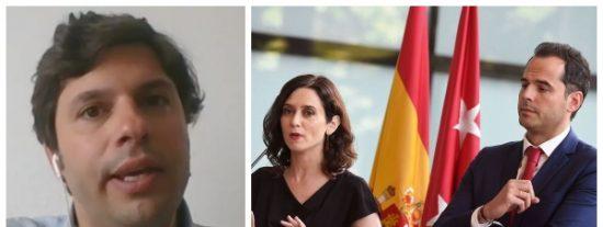 """Entrevista a Jorge Sáinz (VozPopuli): """"Una moción de censura de Aguado contra Isabel Díaz Ayuso es impensable"""""""