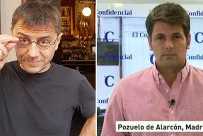 Un enrabietado Monedero amenaza al periodista de El Confidencial que ha destapado algunas de las cloacas de Podemos