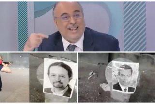 Juliana tiene barra libre en 'Los Desayunos de RTVE' para vincular a PP y VOX con el vídeo de los disparos a fotos de miembros del Gobierno Sánchez