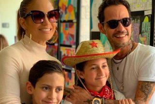 Jennifer López envía un tierno mensaje a su ex Marc Anthony en el Día del Padre