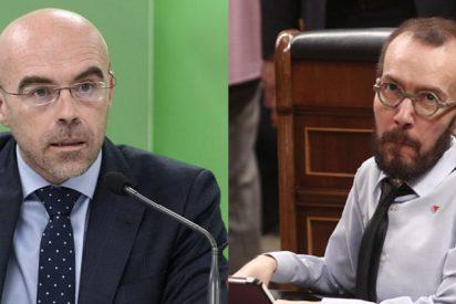 "Jorge Buxadè (VOX) a Echenique: ""Es un 'meme' odioso que se protege tras su enfermedad para esparcir odio"""