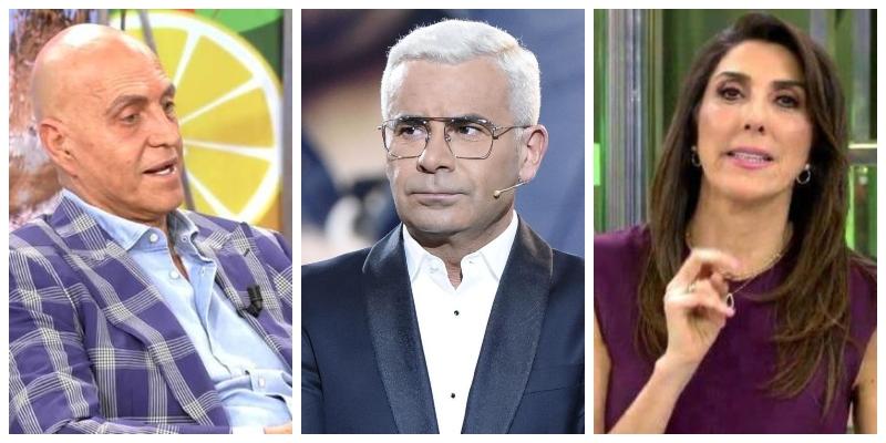 """Kiko Matamoros y Paz Padilla 'pelotean' a Jorge Javier Vázquez y las redes sociales les condenan por """"comunistas"""""""