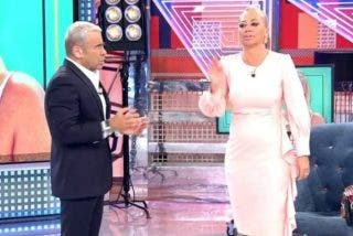 Así de mal está Telecinco tras la bronca entre Jorge Javier Vázquez y Belén Esteban: boicot, divisiones y muy mal rollo en 'Sálvame'