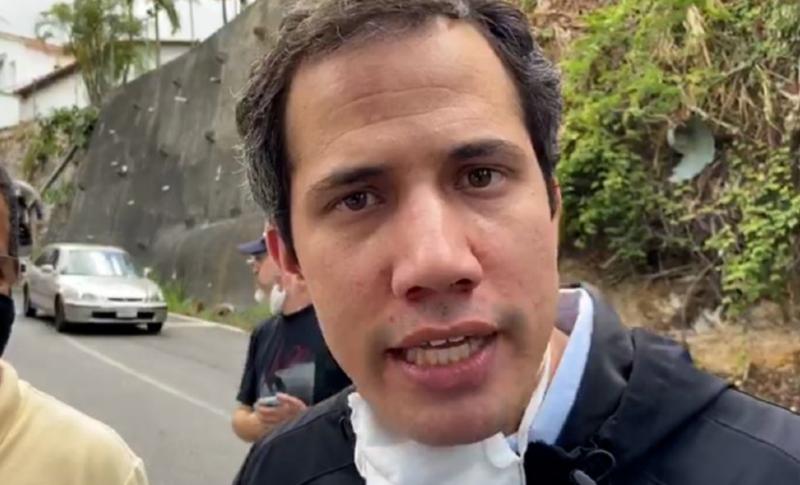 Juan Guaidó sale a las calles de Caracas y deja en evidencia las mentiras del régimen chavista