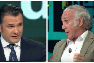 Inda dinamita 'laSexta Noche' acusando a Iñaki López de ocultar la cloaca de Pablo Iglesias