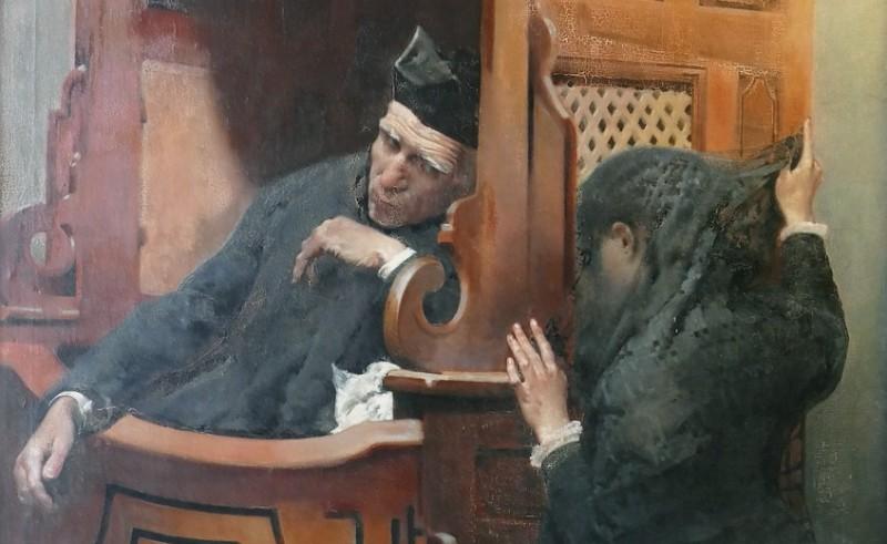 Chiste: el del cura, el novio y la que va a confesarse