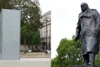 El Ayuntamiento de Londres perpetra la ignominia de esconder la estatua de Winston Churchill