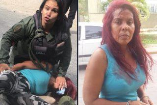 La teniente chavista agrede a una abogada por negarse a pagar soborno por cruzar un puente