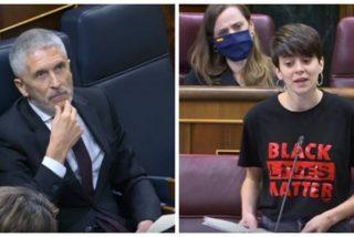 Los remilgos de Marlaska para rebatir la ofensa de una diputada de ERC a Policía Nacional y Guardia Civil