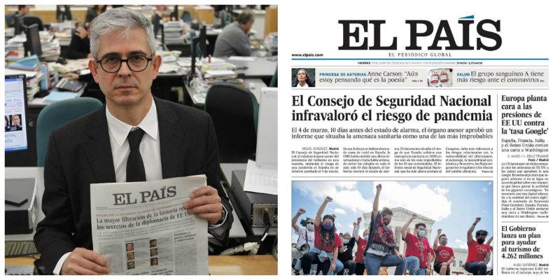 Javier Moreno se reestrena como director de El País con un palo de los gordos al Gobierno Sánchez