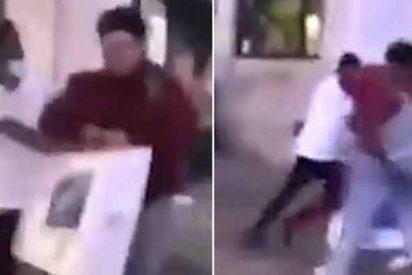 El saqueador más tonto de EE.UU.: Dos hombres lo golpean hasta despojarlo del iMac que había robado