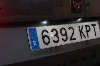 El misterio las letras secretas que esconde la matrícula de tu coche