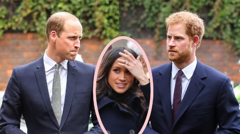 Meghan Markle y Harry 'traicionan' al príncipe William y ponen de los nervios a la Familia Real británica