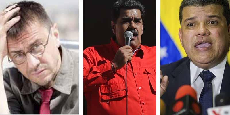'Sablazo' a los amigos de Monedero: La UE sanciona a Luis Parra y a otros 10 miembros de la narcodictadura chavista
