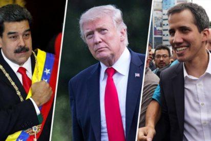 Trump aclara que una reunión con Maduro tendría como único objetivo discutir la salida del tirano chavista del poder