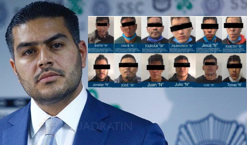 Quiénes son los 28 sicarios del narco implicados en el salvaje atentado contra Omar García Harfuch