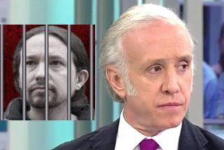 """Eduardo Inda: """"Pablo  Iglesias, eres un delincuente"""""""