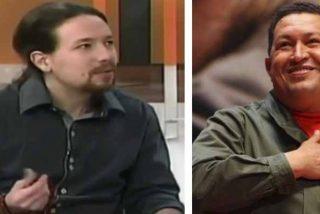 El vídeo que quiere borrar Pablo Iglesias y sus 'sueños húmedos' con Chávez: