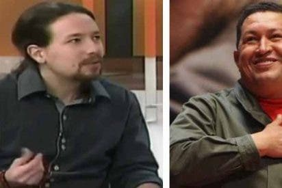 """El vídeo que quiere borrar Pablo Iglesias y sus 'sueños húmedos' con Chávez: """"Lo que me emociona al escuchar al comandante es..."""""""