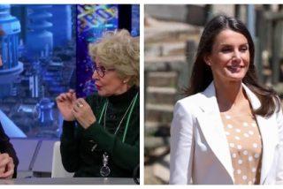 El extravagante encuentro a tres de la Reina Letizia, Pablo Motos y Concha Velasco que salió regular