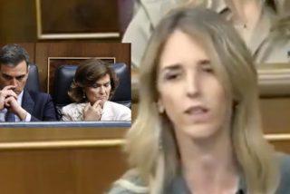 Cayetana Alvarez da Toledo de un repaso memorable a Sánchez, Calvo y Marlaska