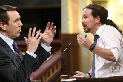 """Rafa Hernando deja patas arriba a Pablo Iglesias con una acusación brutal: """"Eres culpable"""""""