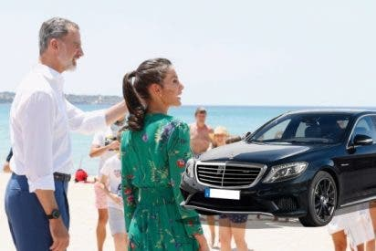 550.000€ de coche con máximo blindaje: Felipe VI y doña Letizia estrenan en las Tres Mil Viviendas