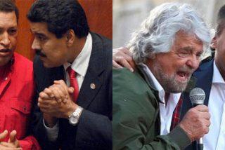 El chavismo financió a lo 'Delcygate' el Movimiento 5 Estrellas, el 'Podemos italiano'