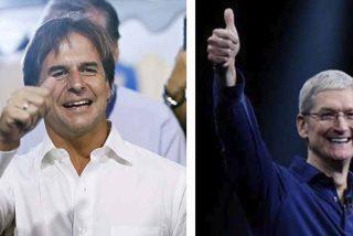 Tim Cook, CEO de Apple, felicitó al presidente de Uruguay por su estrategia contra el COVID-19