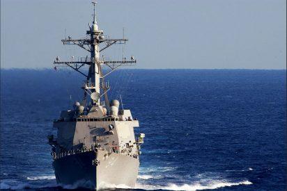 Un destructor de EEUU navega en las aguas del Caribe 'expropiadas' por el régimen de Maduro