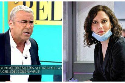 Jorge Javier Vázquez se pone al servicio de Sánchez y de la siniestra campaña de Moncloa para erosionar a Ayuso