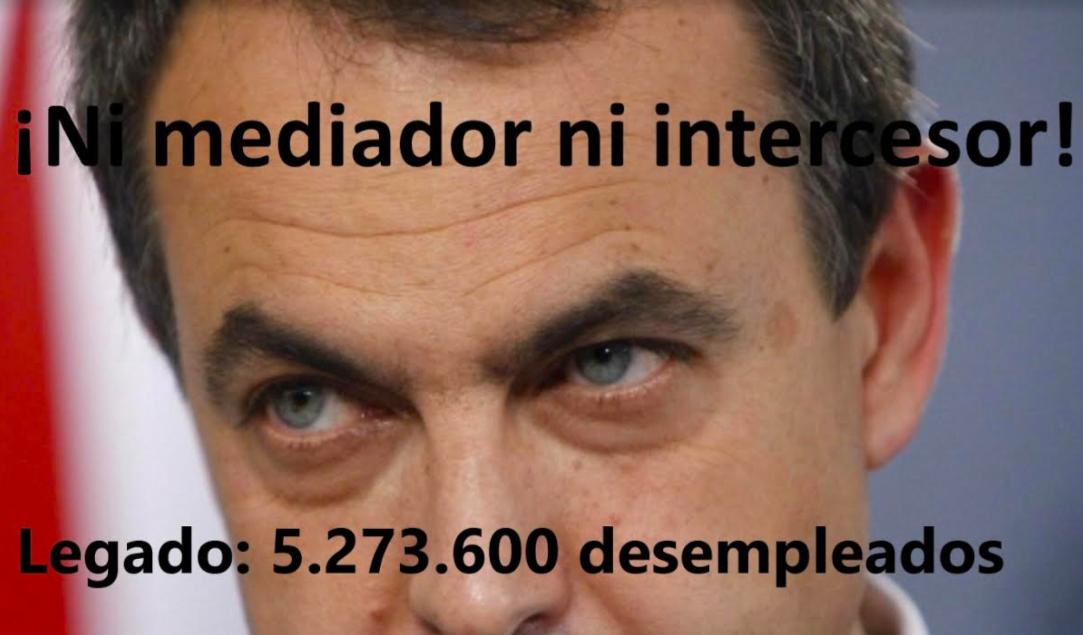 """José Luis Palacios: """"ZP quiere salvar su """"cucu"""", ¡ni mediador ni intercesor!"""""""