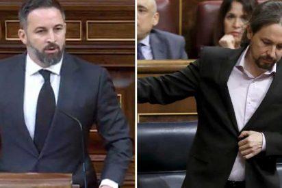 """Abascal desnuda a Iglesias: """"Vienen disfrazados de descamisados pero van de la mano de los poderosos, como PRISA"""""""
